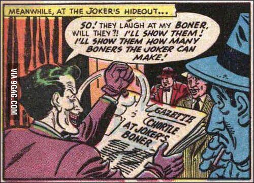 In 1940's boner meant a 'huge mistake'.