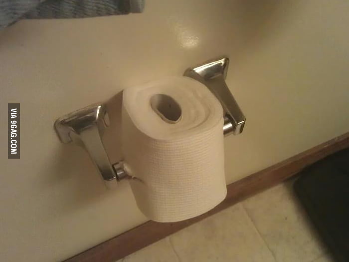 Told my roommate he was putting the toilet paper wrong...