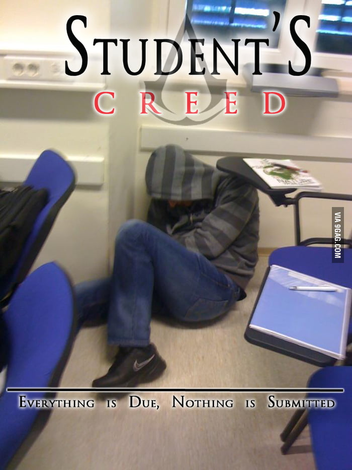 Blending into college life..