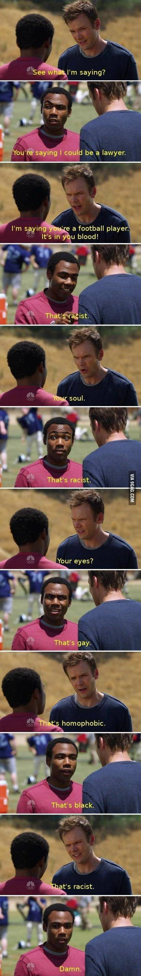 That's racist