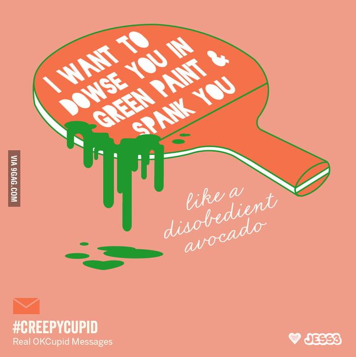 Creepy Cupid: Bad OKCupid Messages As Valentines - 9GAG