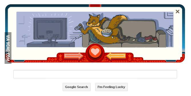 So I was playing Google's game: Forever Alone Fox