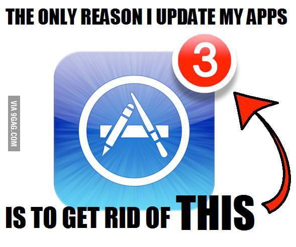 I HATE app update