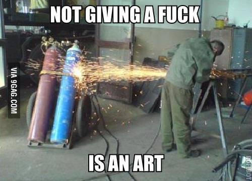 And I am an artist