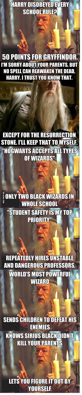 Troll Dumbledore