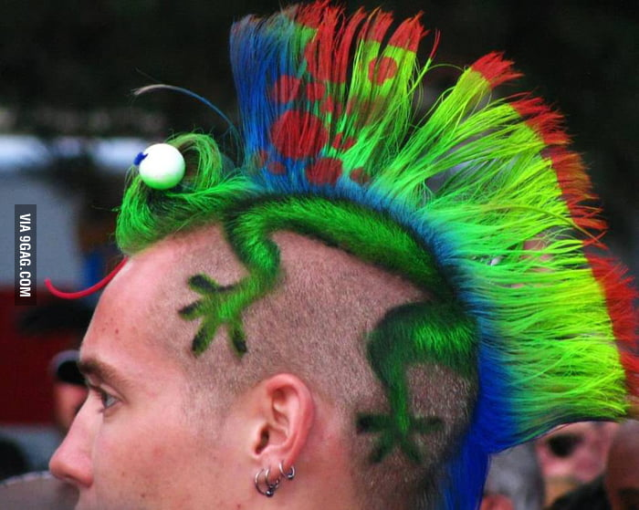 Well that is a bad ass haircut