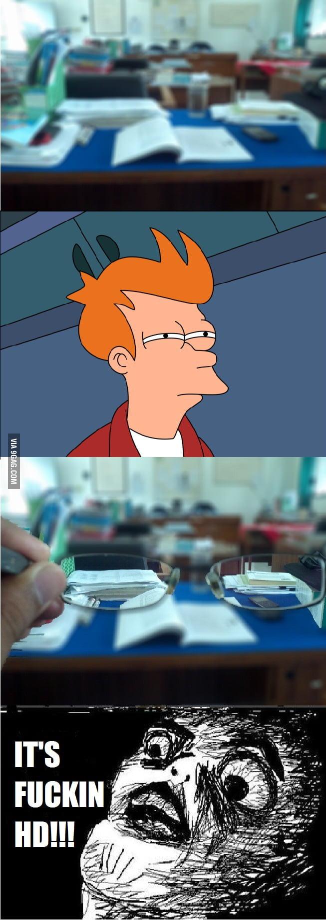 When I get new glasses