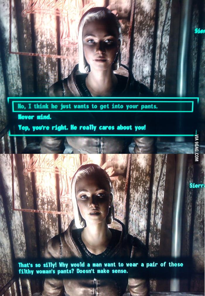 Sexually Oblivious Fallout 3 Girl