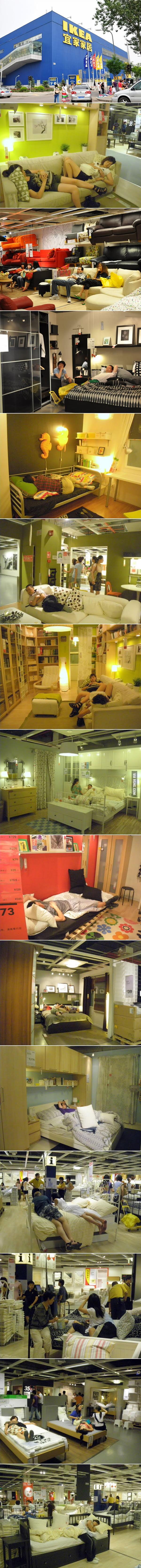 IKEA in China.