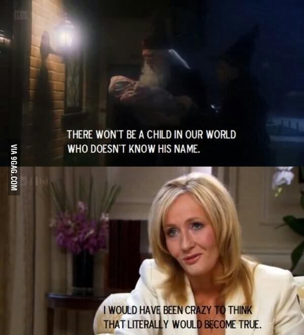 J.K. Rowling is a Seer