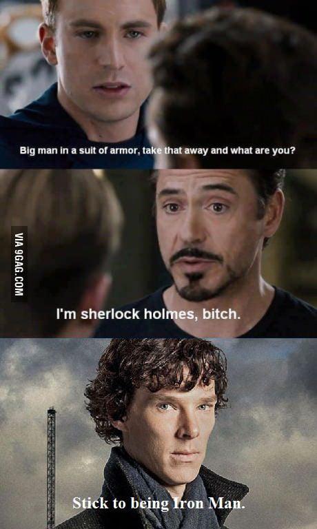 Stick to being Iron Man.