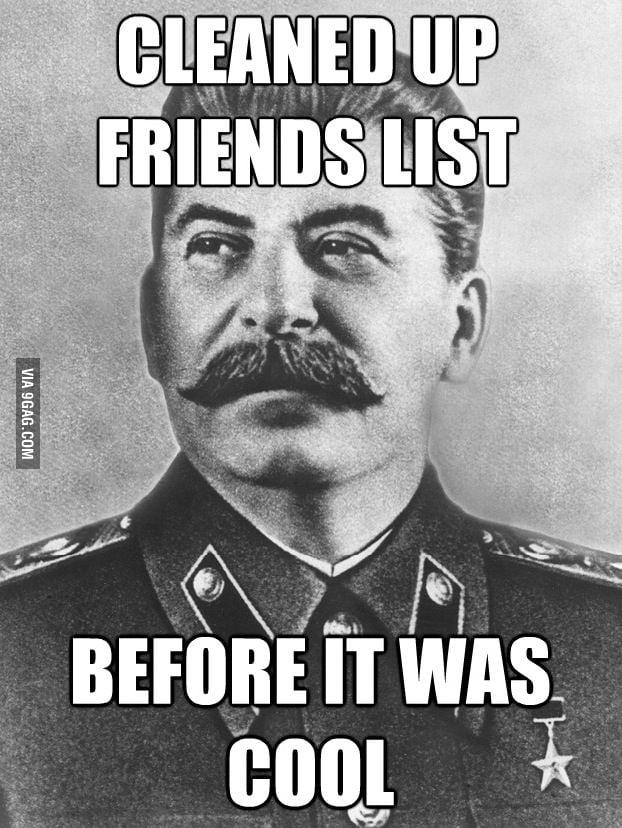 Unfriended by Stalin