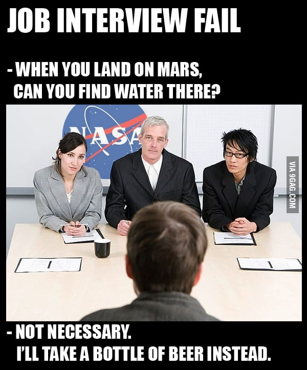 job interview fail 9gag