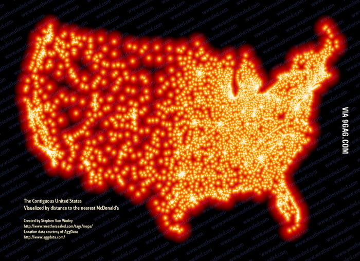 Every McDonald's in the US