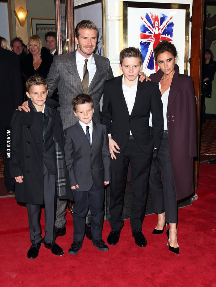 That Beckham gene is strong as hell!