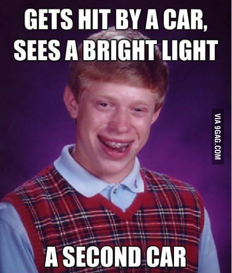 Bad Luck Accident