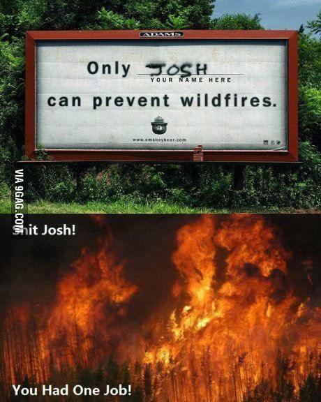 Where were you,Josh?!