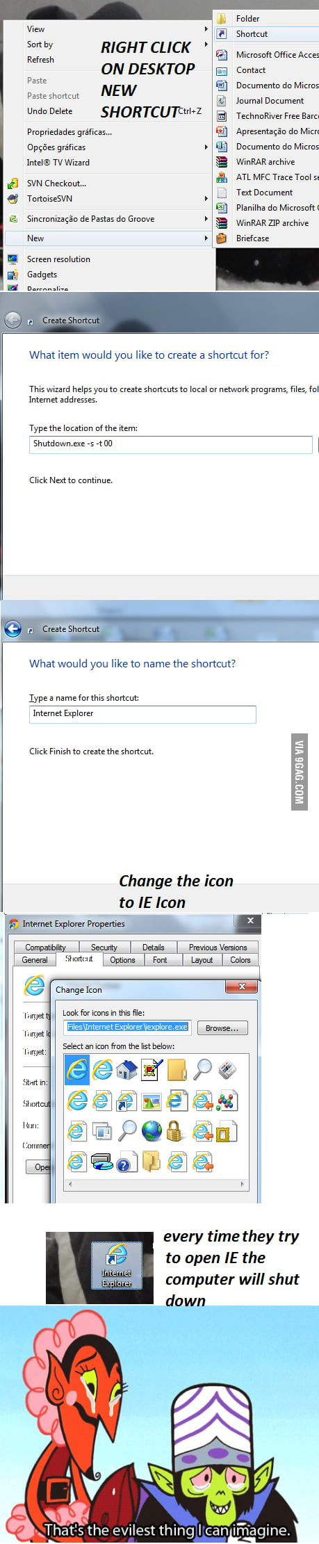 How make someone stop using IE