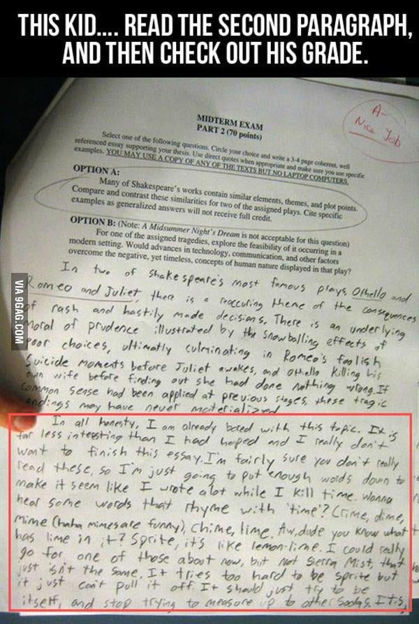 This kid has some serious balls...