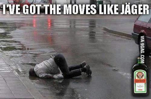 Moves like jäger! wait, what?