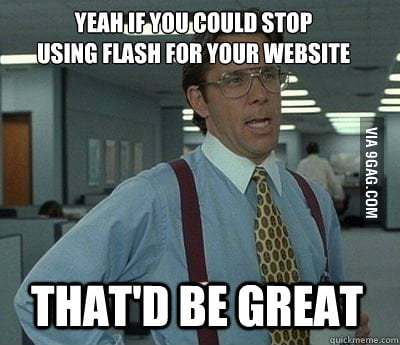Every time I open a restaurant's website on my mobile