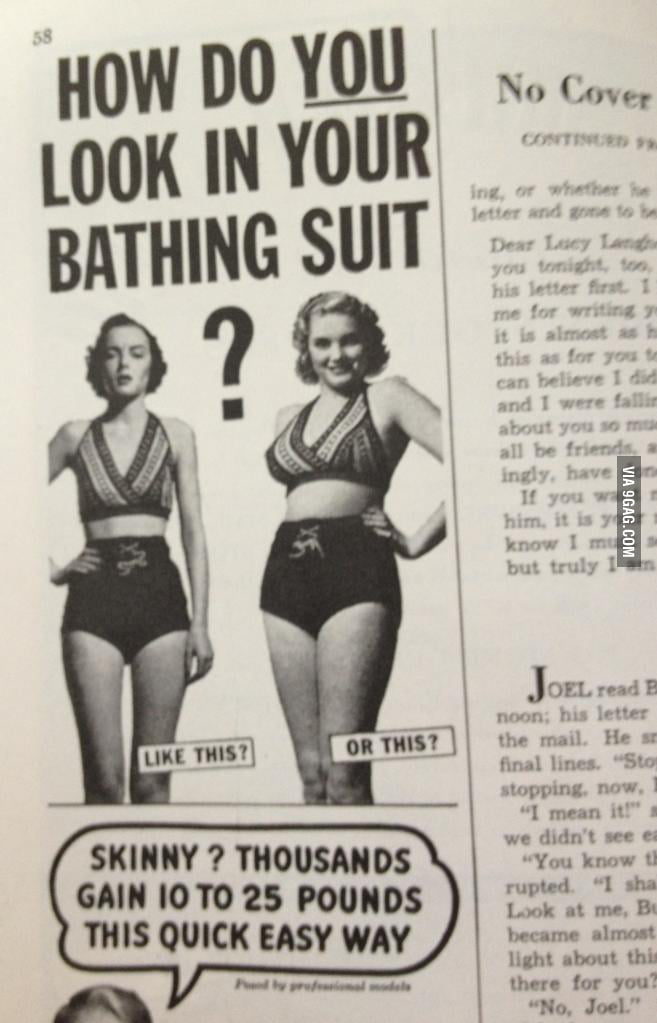 Found in a magazine from the 50's. Times have changed.