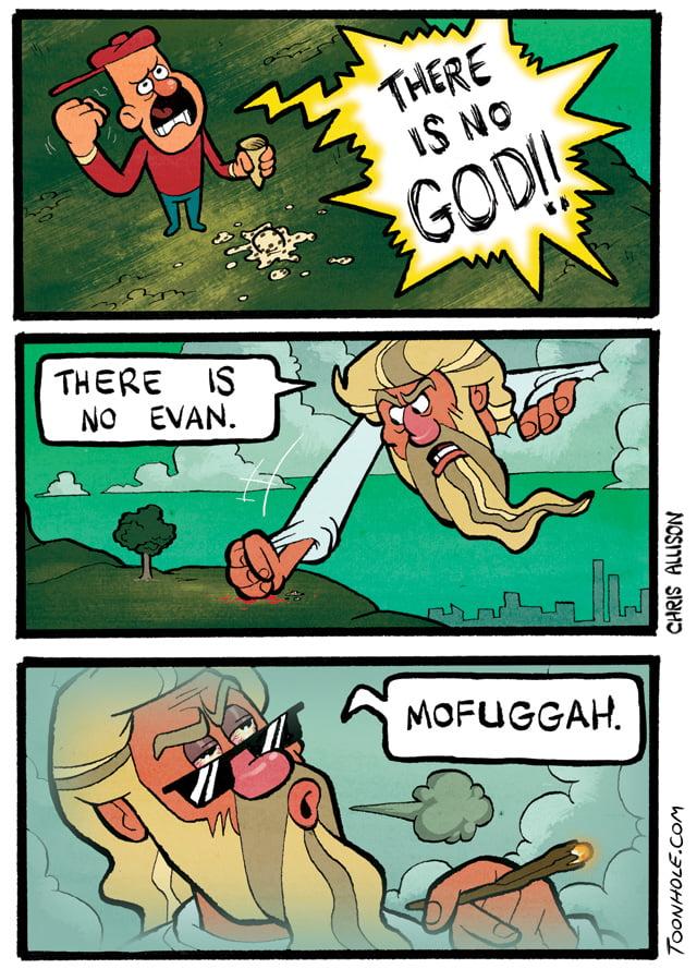 God had enough!!