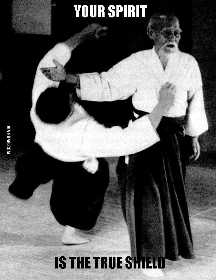 Sensei Ueshiba say..
