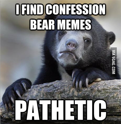 Confession Bear People