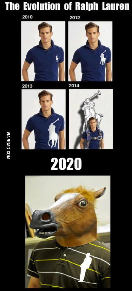 Evolution of ralph lauren