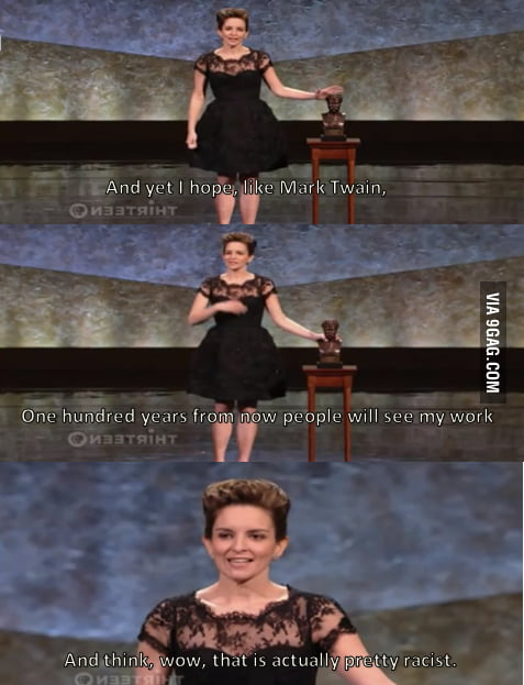 This is why I love Tina Fey