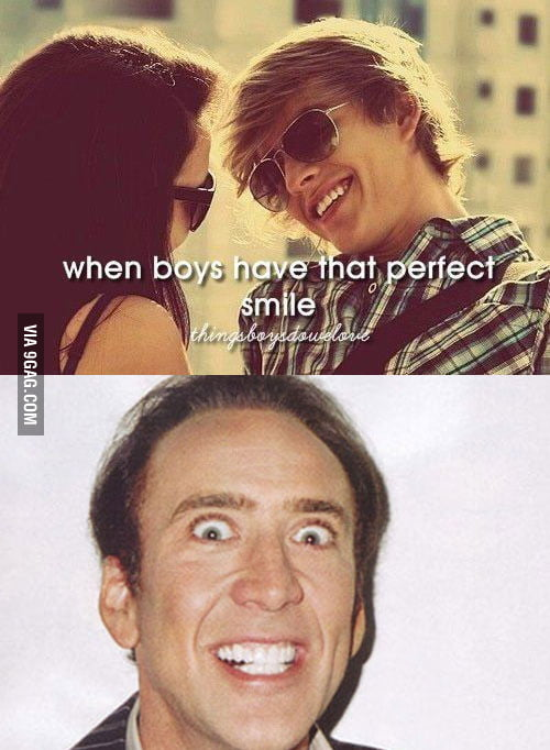 The perfect smile