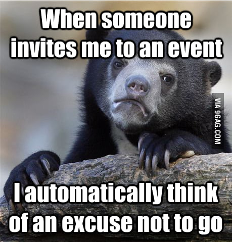 An introverts nightmare
