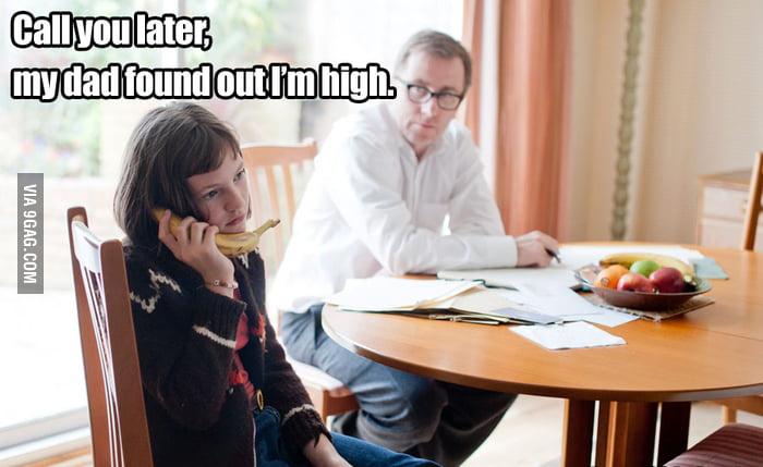 Girl high as f**k...