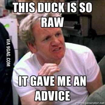I hope it was a good advice