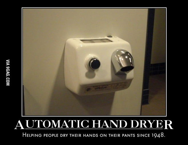 "More like ""Automatic Your Hands Are Still Wet."""