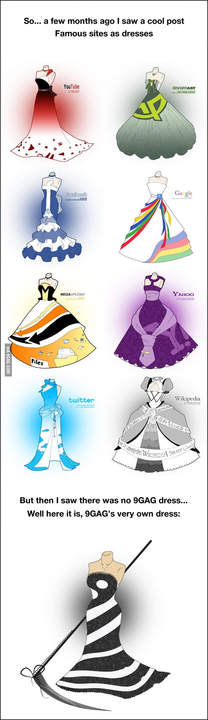The 9GAG dress