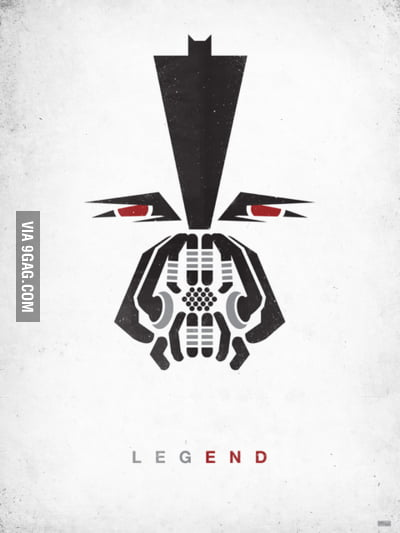 A cool poster of Bane
