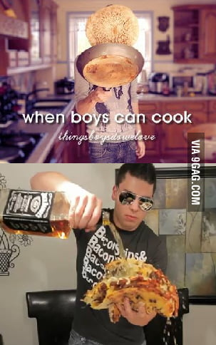 Muscles glasses, cook of the year!