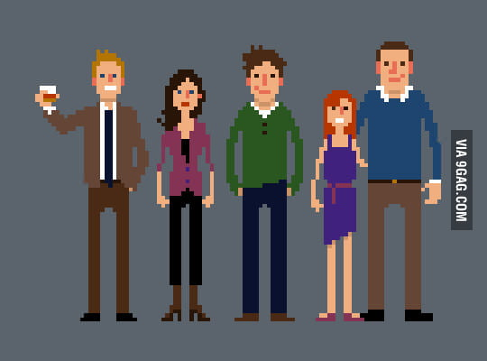 HIMYM in pixels