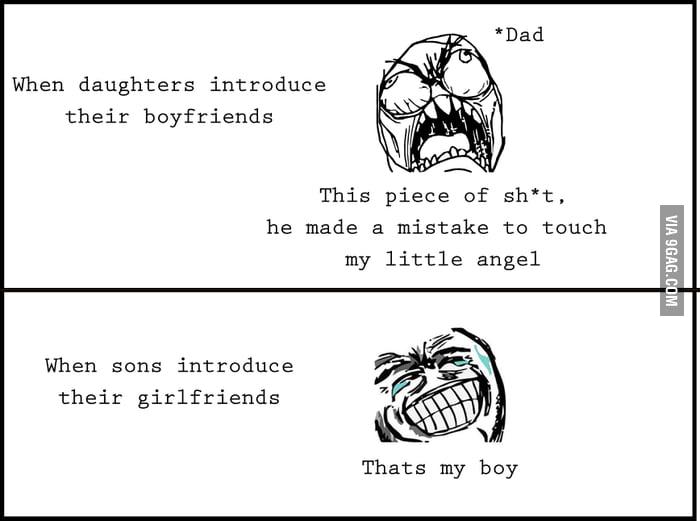 Father's logic.