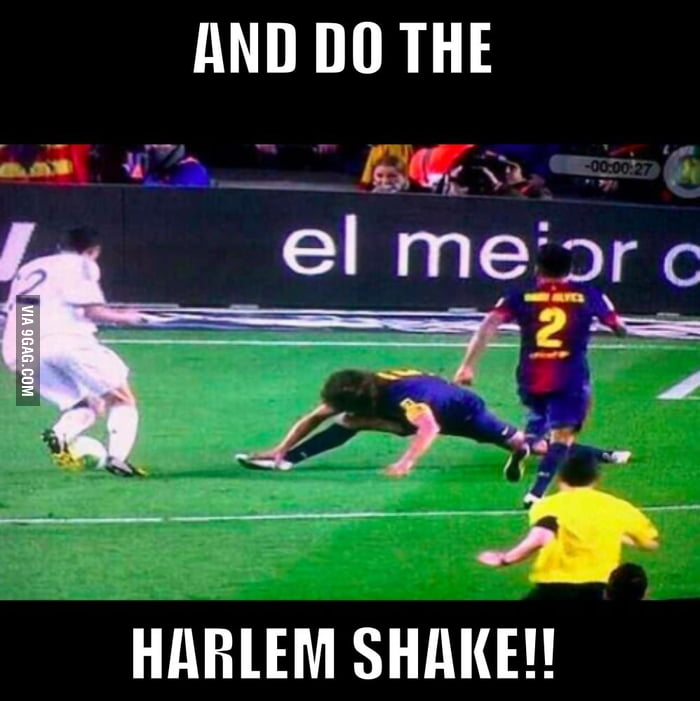 ....and do the HARLEM SHAKE!!