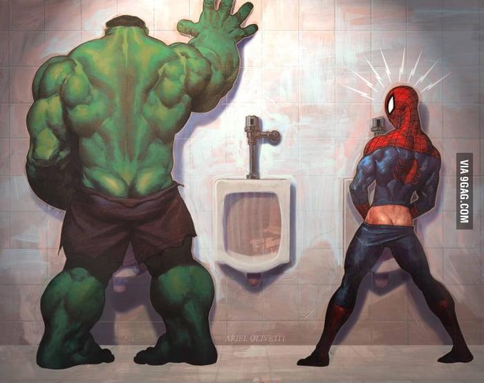 You lose Spider-Man admit it
