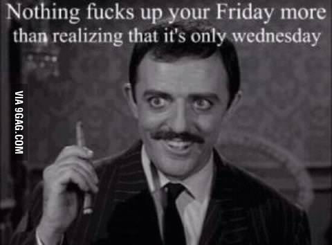 F#%K it! Early weekend