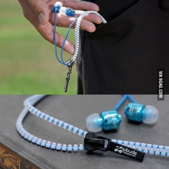Never tangle your headphones