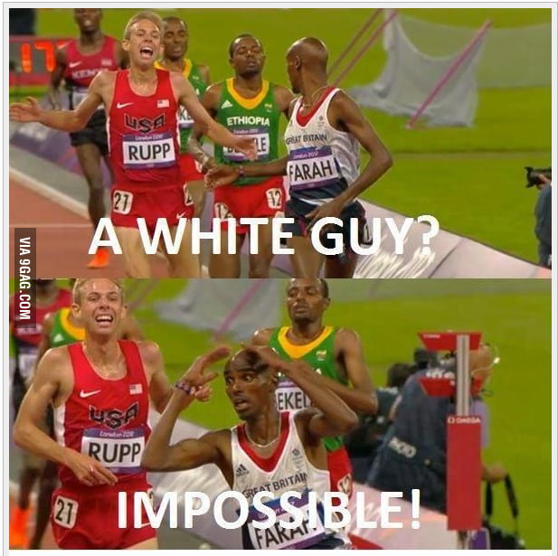 A white guy?