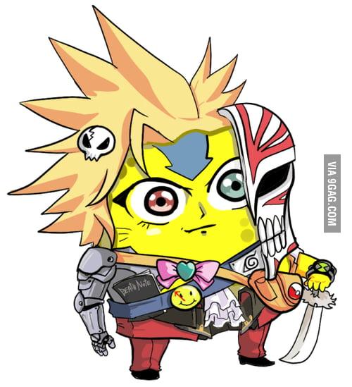 Spongebob Death Note Naruto Pokemon Bleach Ect 9gag