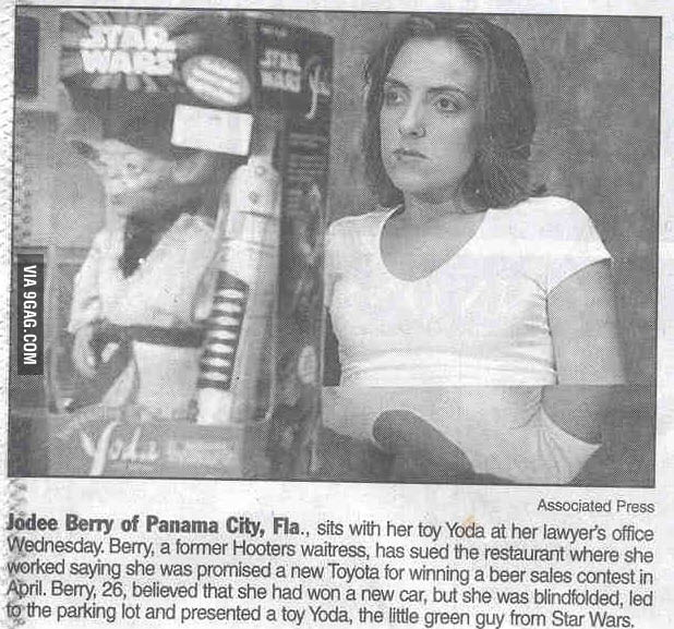 I´d love to get a toy yoda, too.