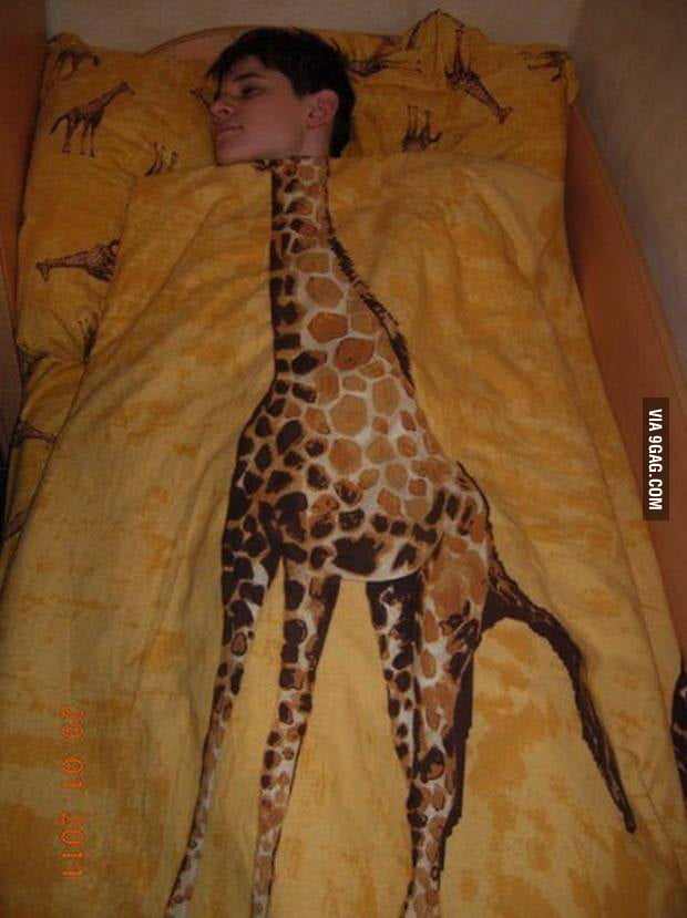 The dude with the best bed ever