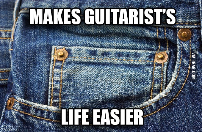 Guitar players will know